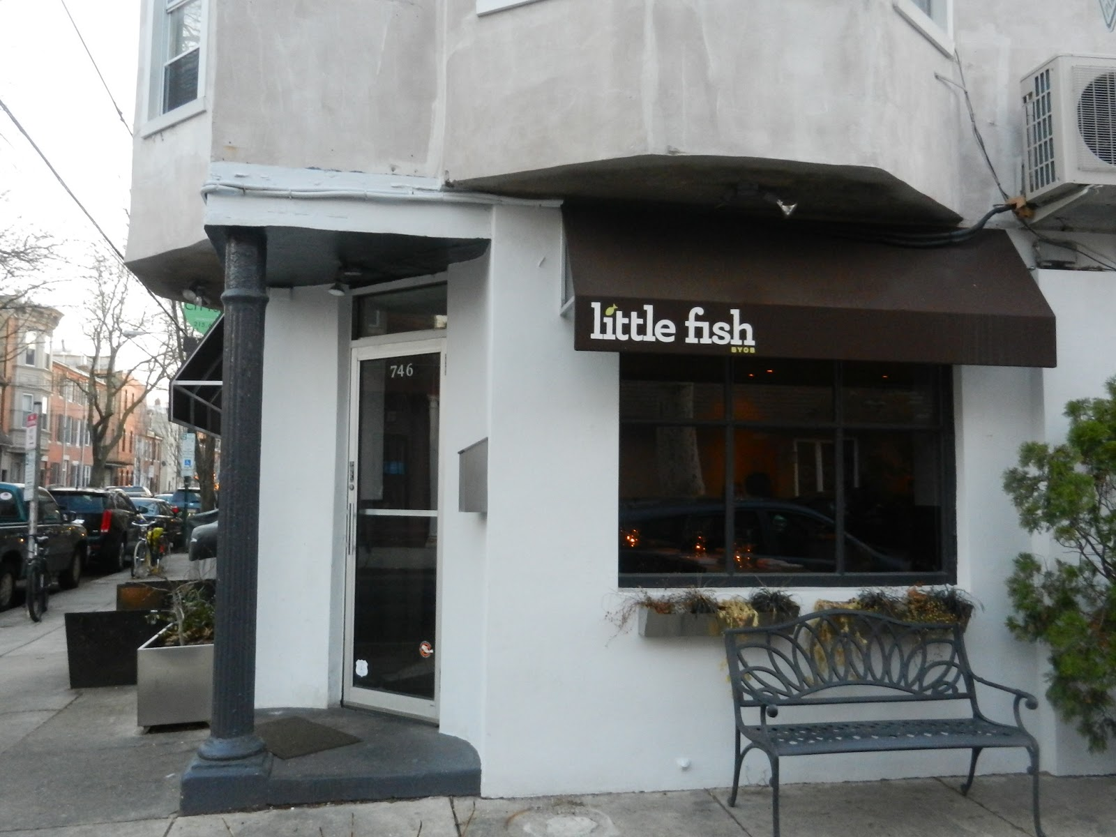 Belly of the pig little fish review for Little fish philadelphia