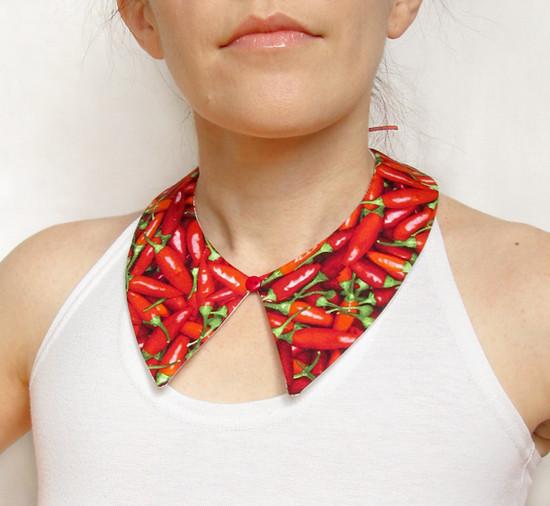 Collar, красный воротник