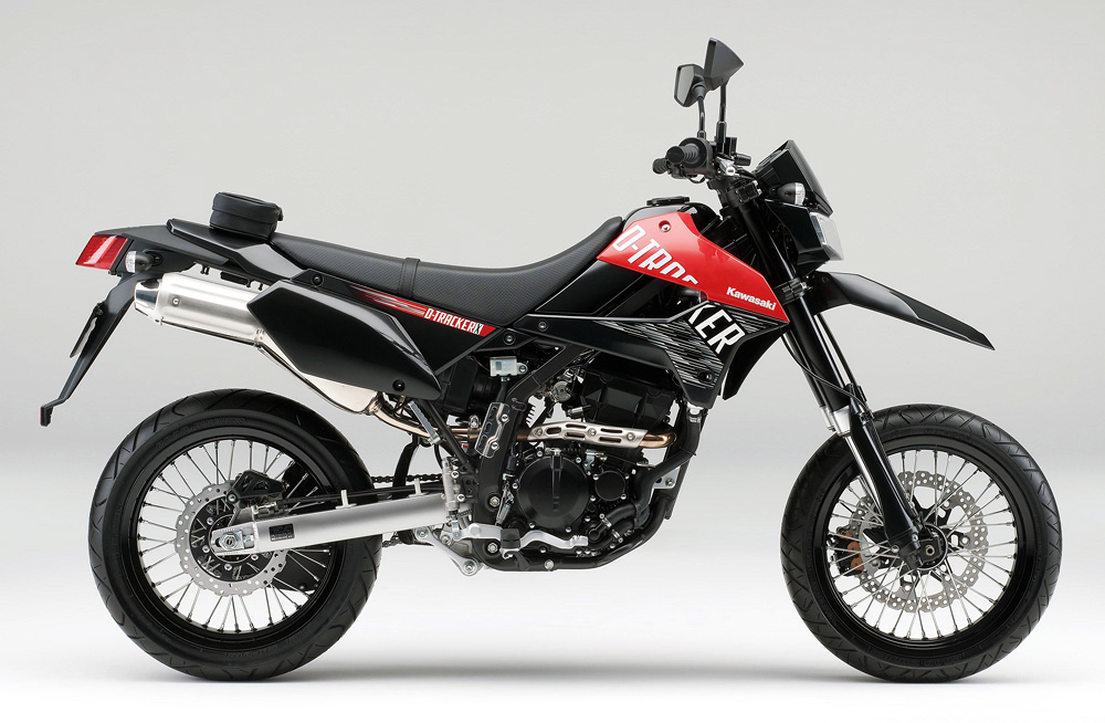 Kawasaki D-TRACKER X 2013 with two New Colors | Diverse ...
