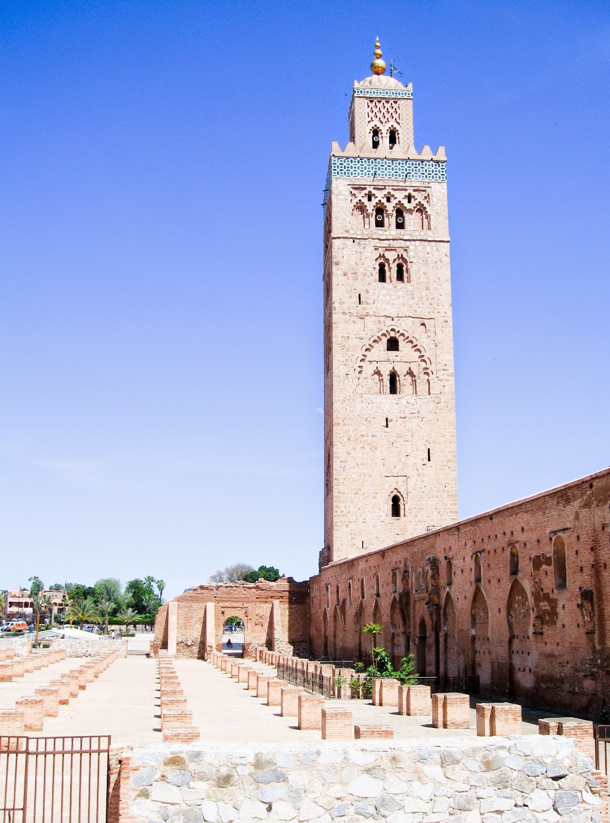 Top Marrakech tourist attractions: Koutoubia Mosque of Marrakech
