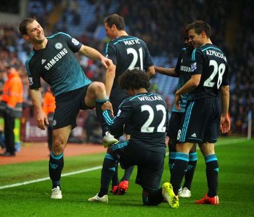 Aston Villa vs. Chelsea 1-2 Highlight Goal Premier League 7-02-2015
