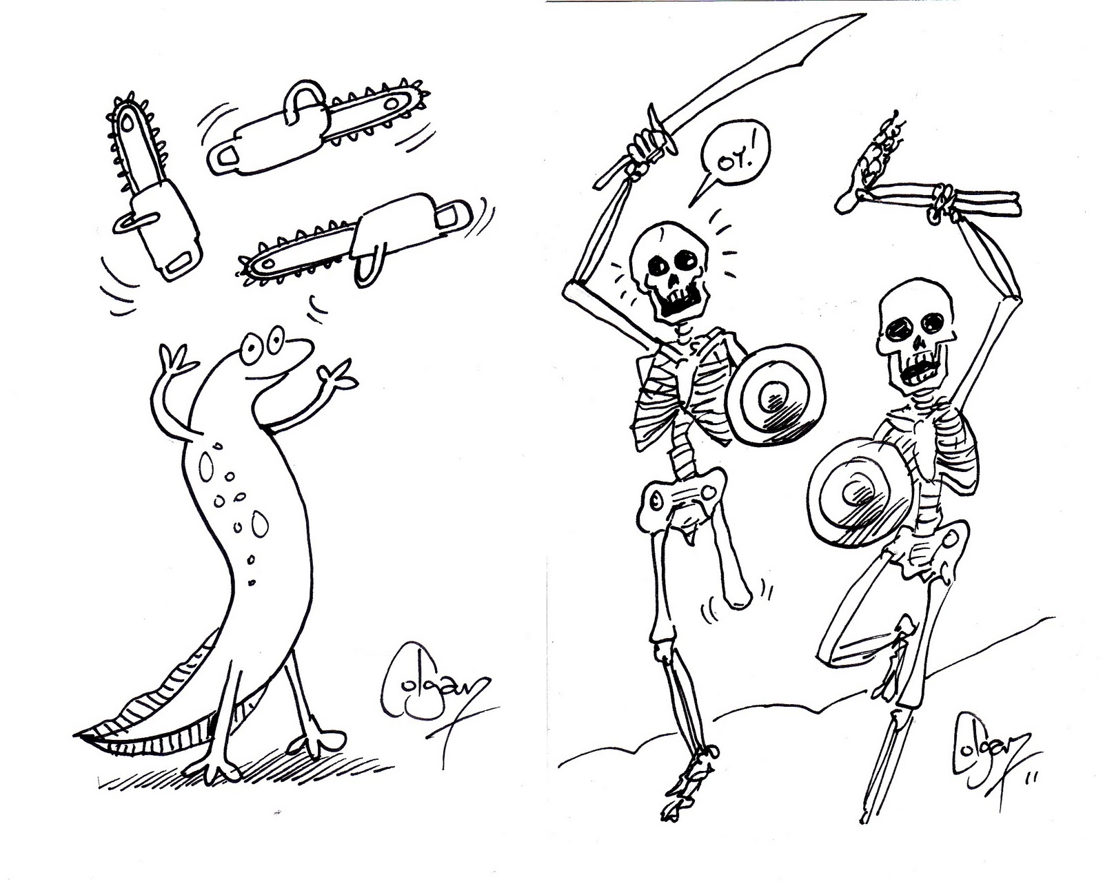 Newt skeleton - /animals/N/newt/Newt_skeleton.png.html