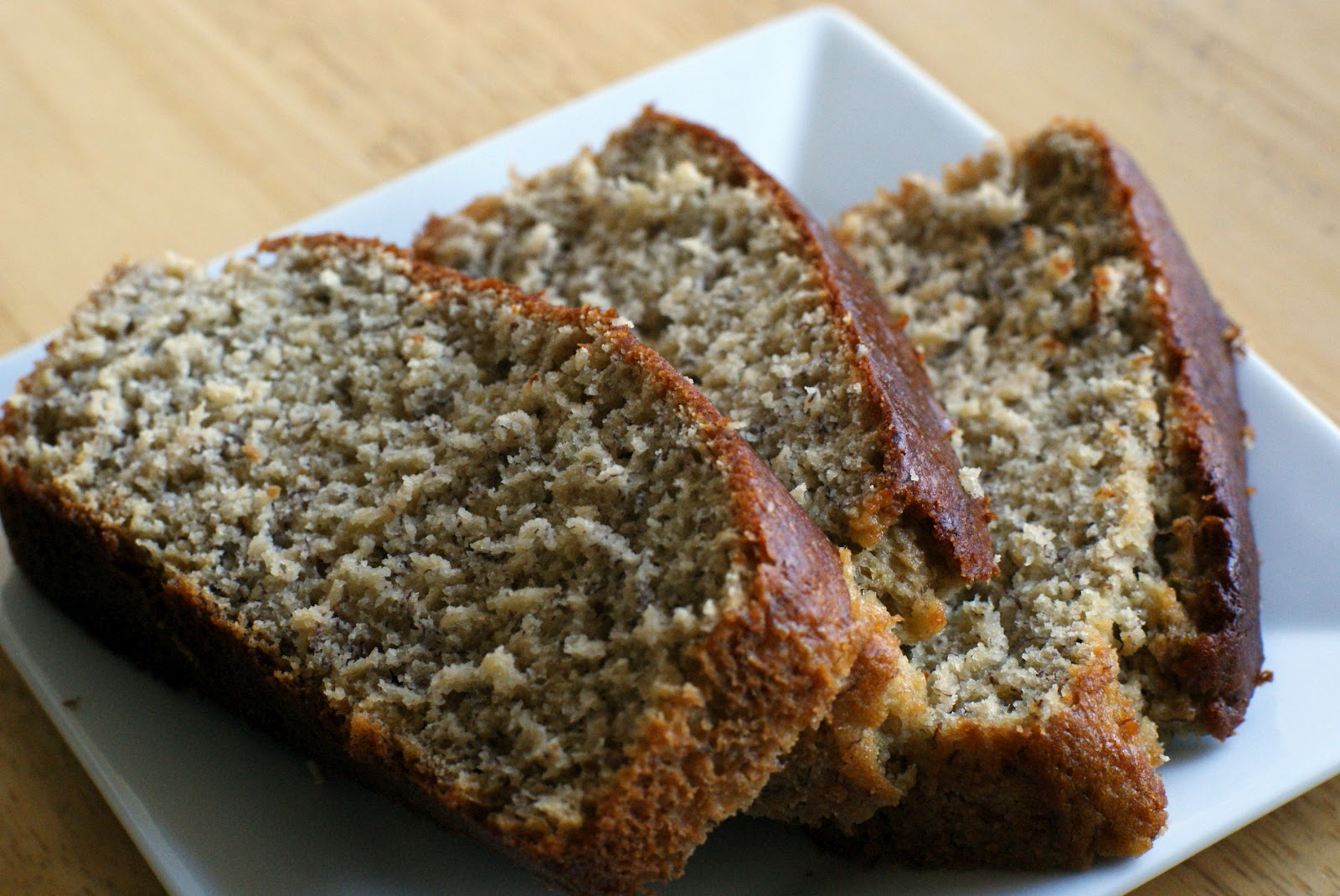 Banana Applesauce Bread Made With Cake Mix And Sour Cream