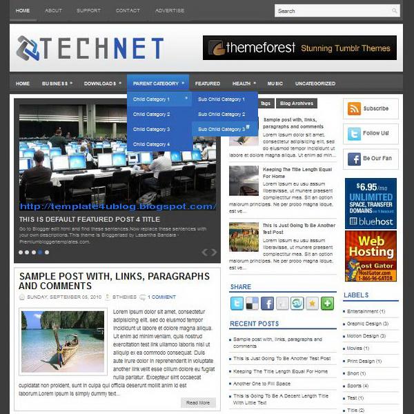 TechNet Blogger Template