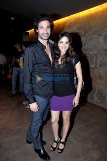 Sunny Leone and Sophie at the screening of 'Shootout At Wadala'