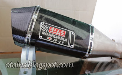 Harga Knalpot Motor Racing Yoshimura Terbaru 2015