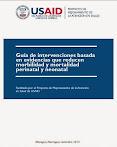 Guia de Intervenciones Basadas en Evidencia que reducen Morbimortalidad Neonatal - Nov. 2014