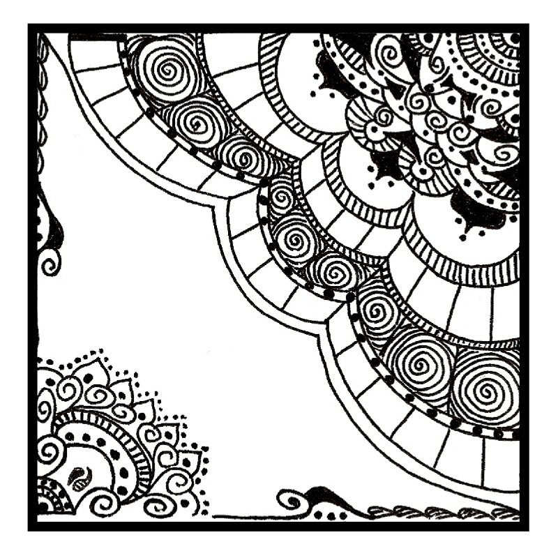 Christmas card drawing ideas car tuning - Easy Zentangle Patterns