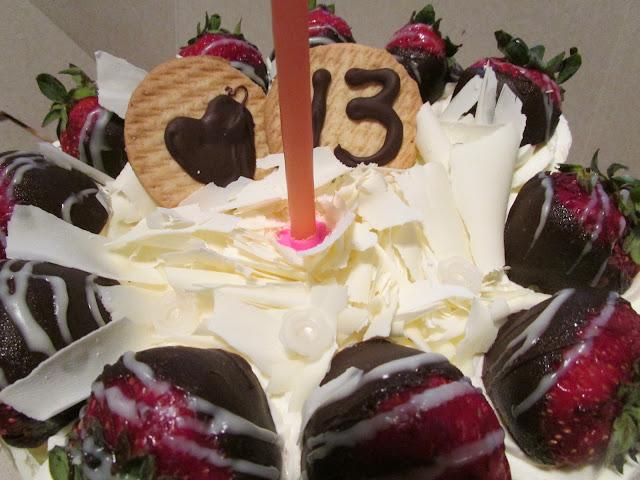 La Rocca birthday cake