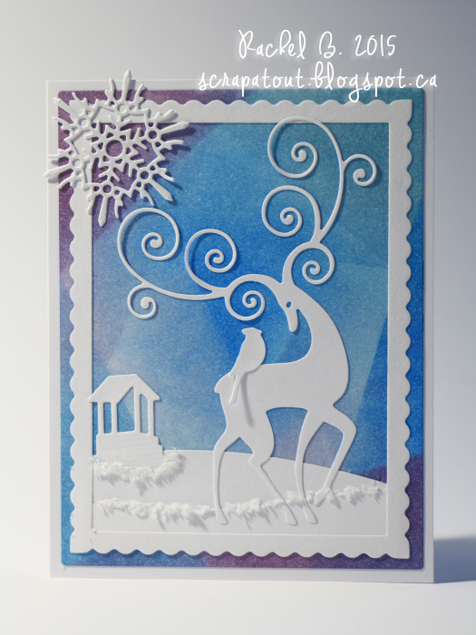 Handmade card, Winter, Impression Obsession