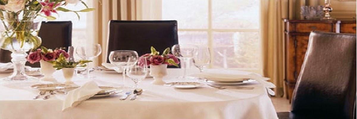 Fete de masa damasc pret | Fete de masa damasc bumbac teflonat | Fata de masa rotunda restaurant