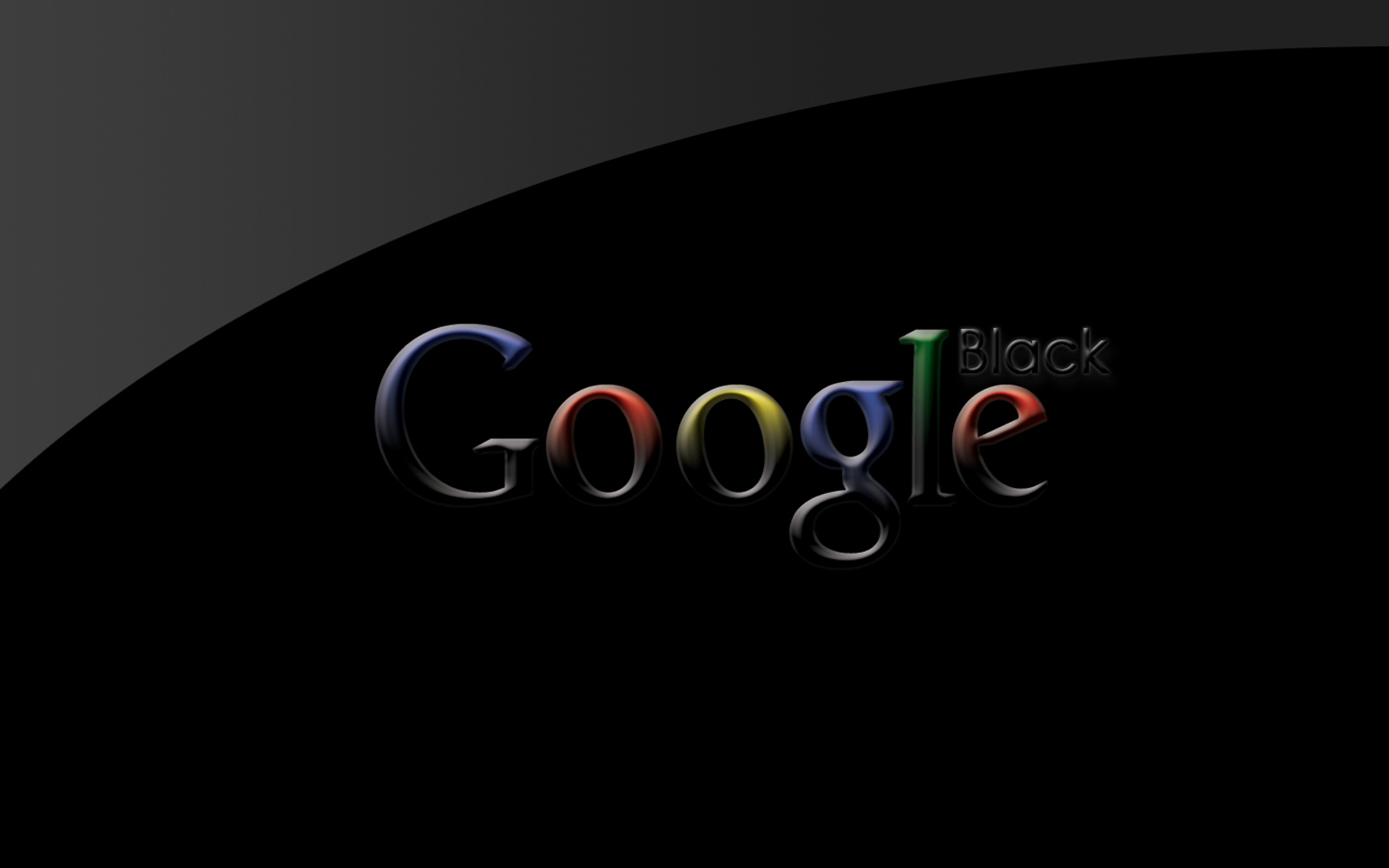 how to change google background to black
