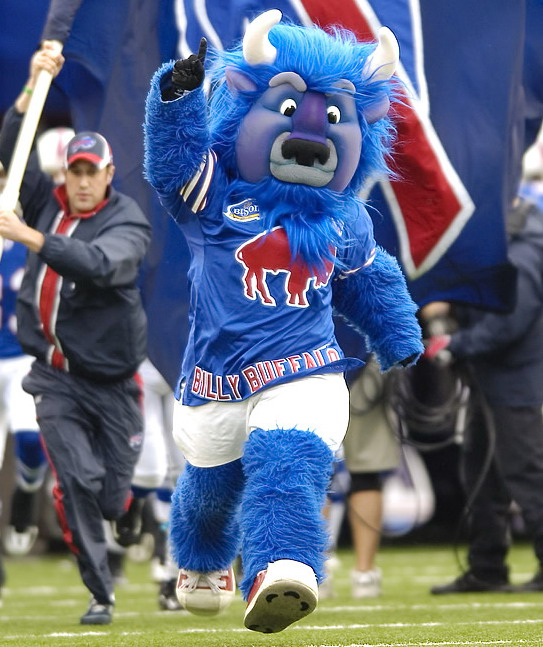 Billy, mascot of the NFL's Buffalo Bills