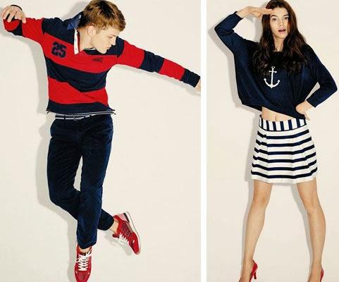 Easy Wear colección primavera 2014 El Corte Inglés estilo marinero