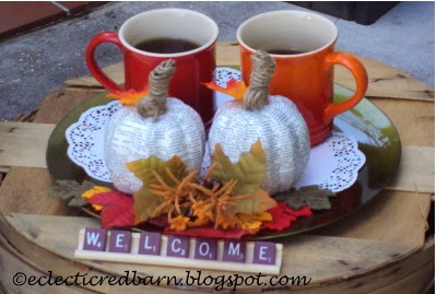Eclectic Red Barn: Tea and fall accessories