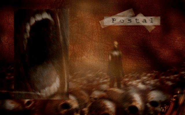 Postal title screen