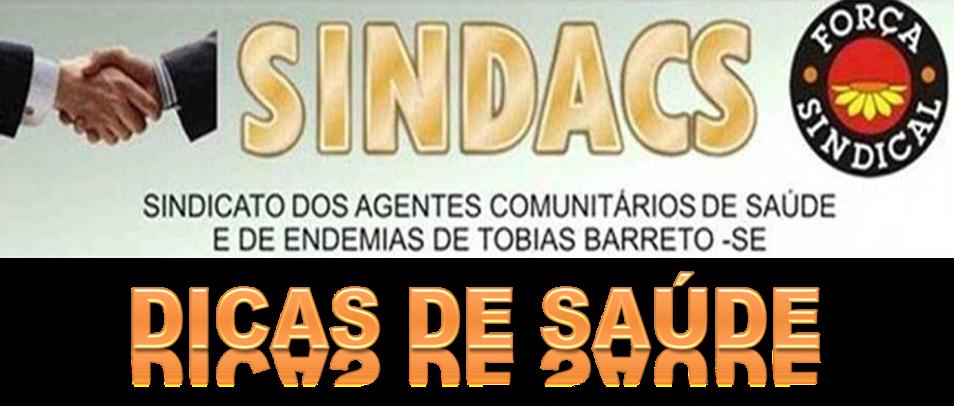 SINDACS DICAS DE SAÚDE