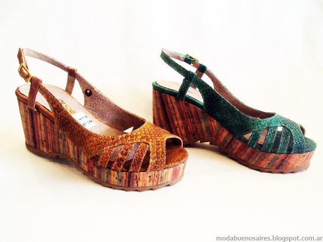 Sandalias de moda verano 2015.