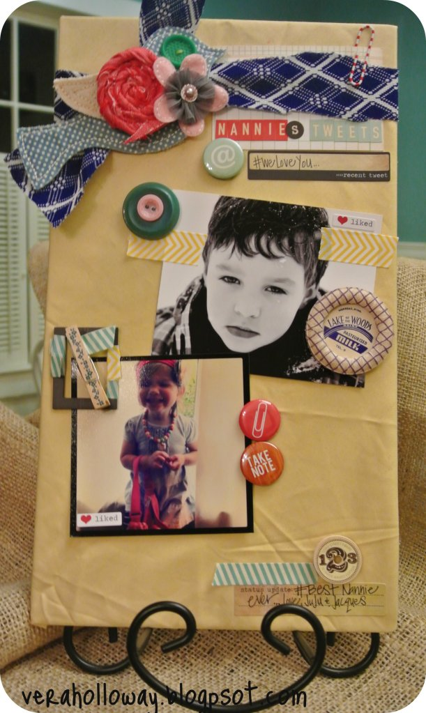 My Creative Journey April Diy Magnetic Board