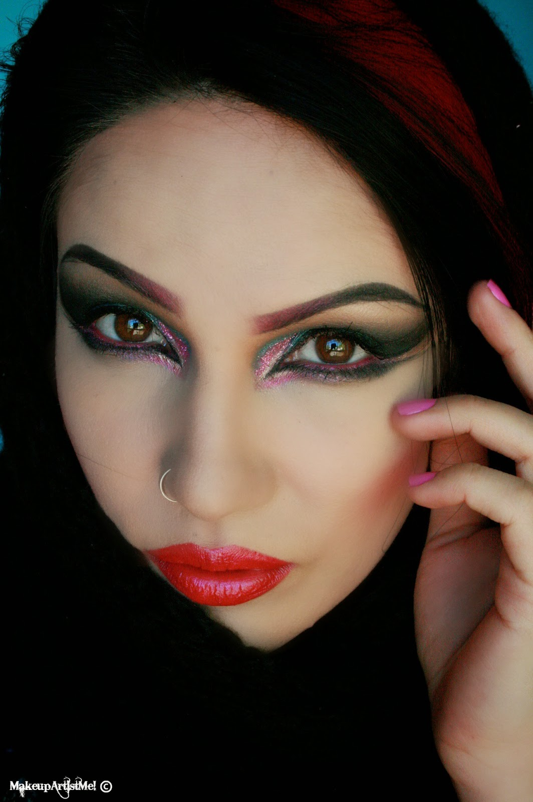 Make-up Artist Me!: Arabic Drama - Makeup Tutorial