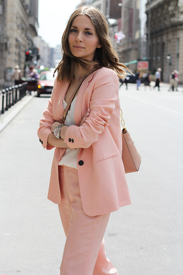 Fashion and style pastel pink suit Fashion and style by vanja m facebook
