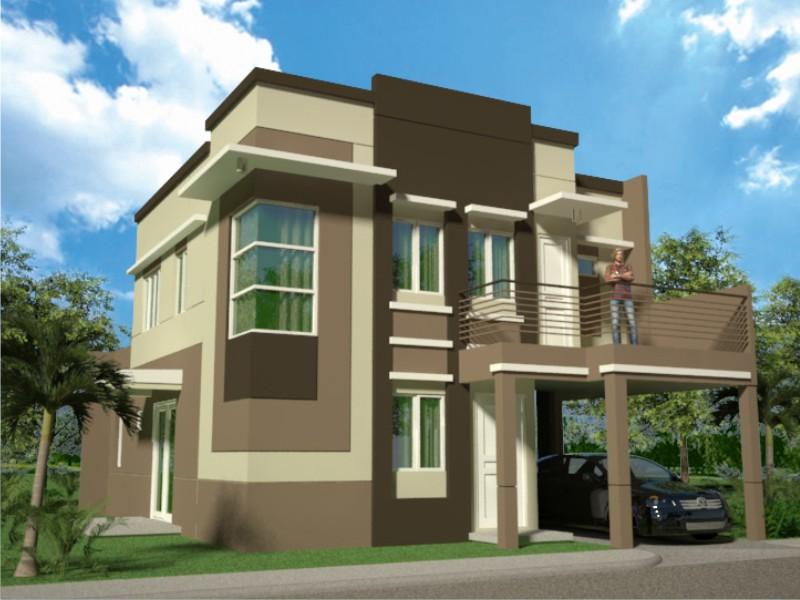 Casas color - Colores fachadas de casas ...