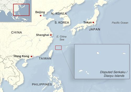 Senkaku island dispute essays