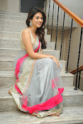 Shraddha das Latest Photos in Saree-thumbnail-15