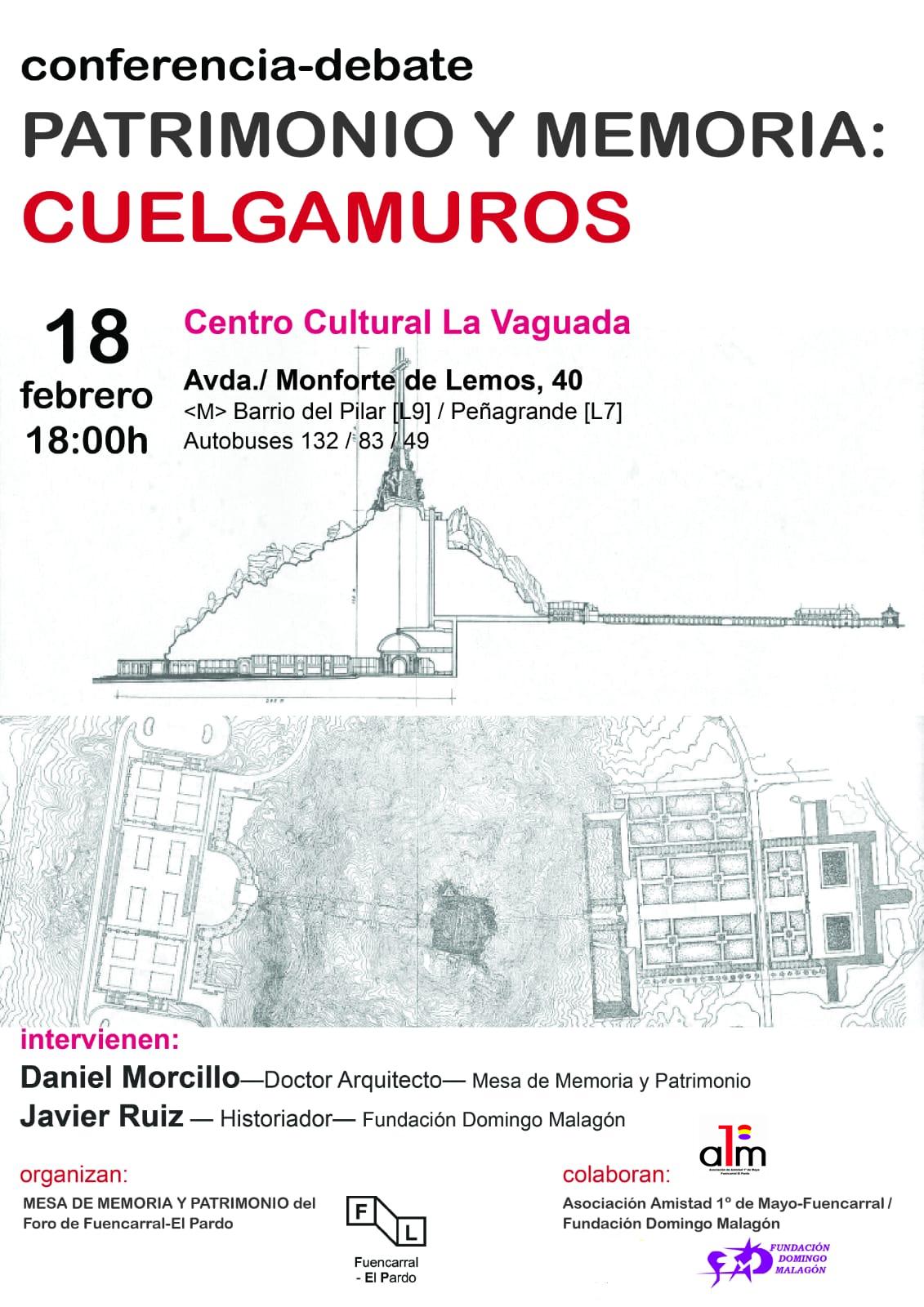 "18 febrero Debate ""Cuelgamuros"""