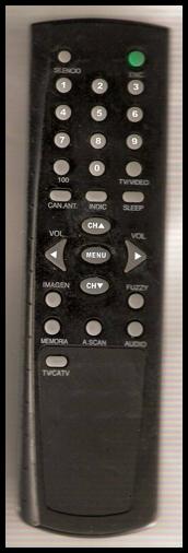 RCA RAR2108USL y RAR2908SL Chasis JYM-560-09 Modo Service control remoto