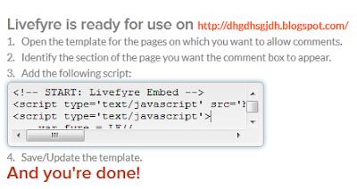 livefyre code