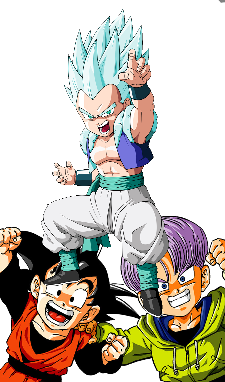 Gotenks The Son Gogeta GotenFuture Goten