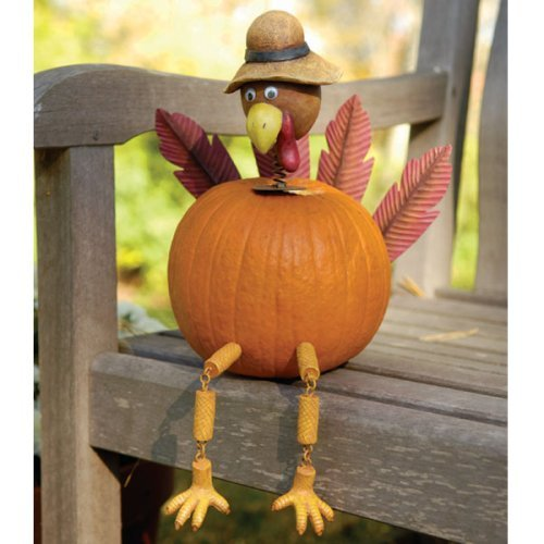 Eat live grow paleo quick and easy thanksgiving decorating for How to decorate a pumpkin for thanksgiving
