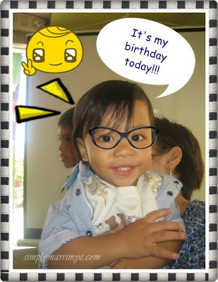 Kiko's First Birthday at McDonalds
