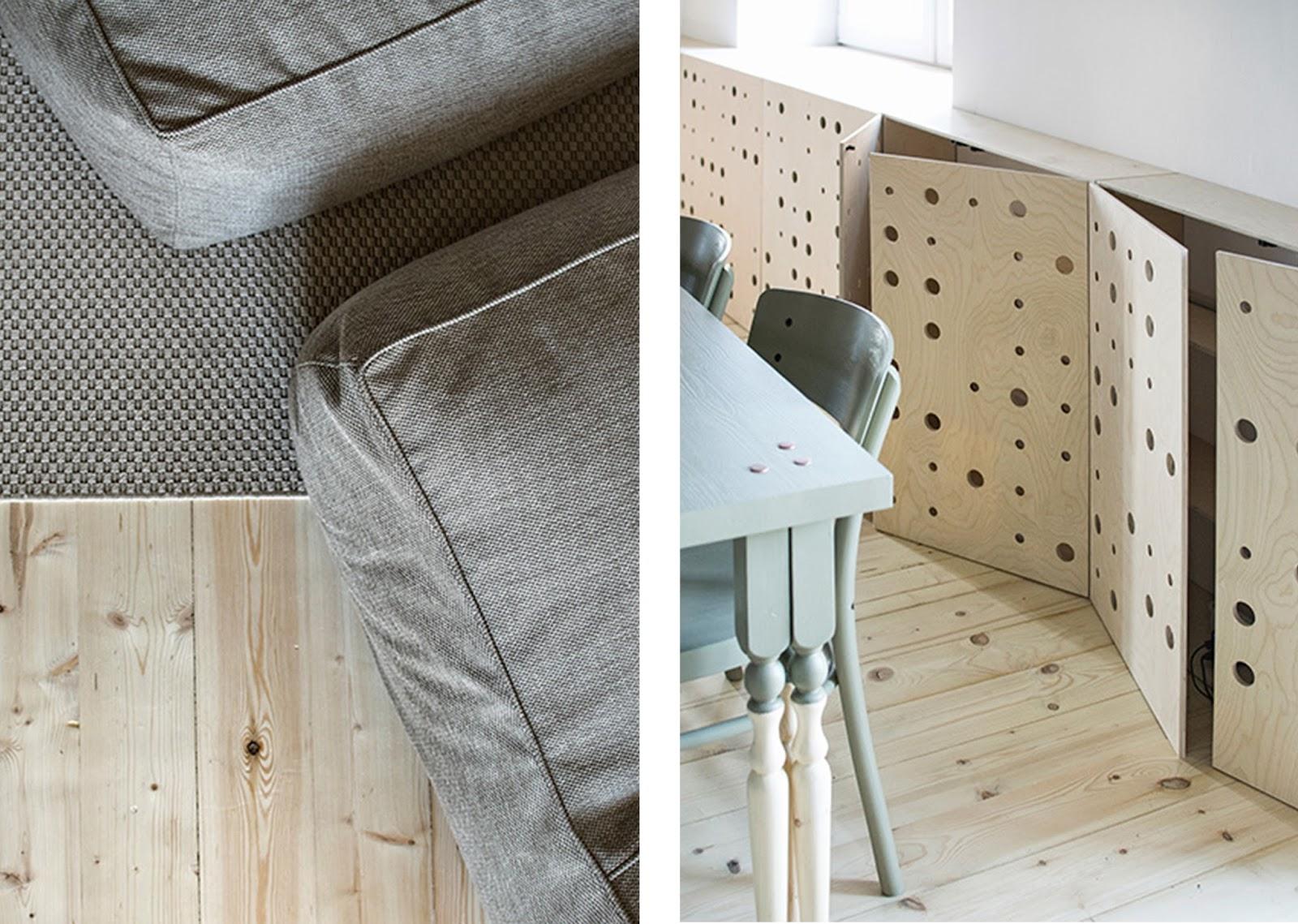 Appartamento minimale con arredi e decori fai da te a san for Architecture minimale