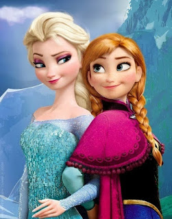 Gambar Elsa dan Anna Frozen wallpaper 4