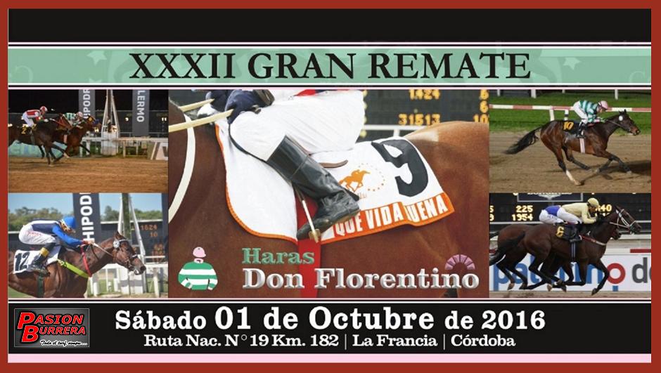 REMATE DON FLORENTINO - 1 DE OCTUBRE