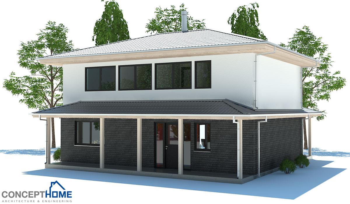 Affordable Home Plans  Economical House PlansEconomical House Plan CH
