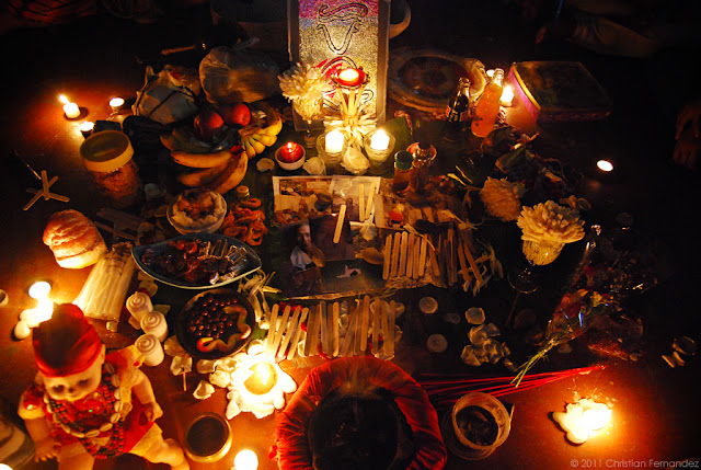 Samhain altar
