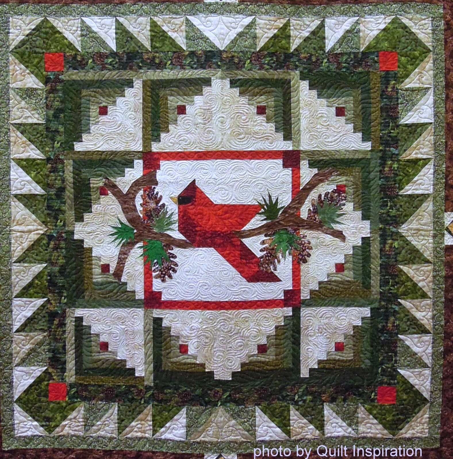 Log Cabin Patterns : Quilt inspiration happy quilted holidays the best of