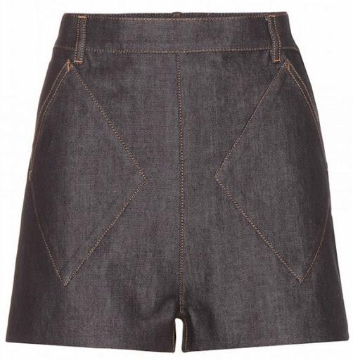 Model celana pendek denim dari Balenciaga ($371)