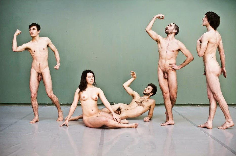 American stage nude dancers