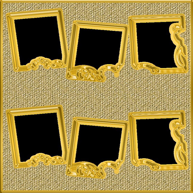 Gifs y fondos paz enla tormenta marcos dorados para - Marcos de fotos dorados ...