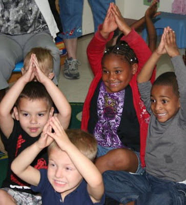 "photo of: Head Start Children 'Grow"" with Music Choreography"