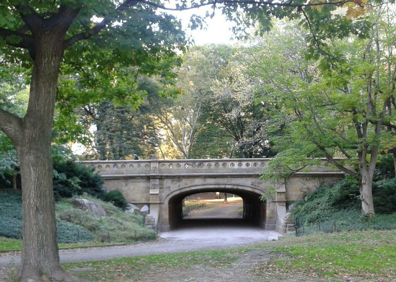 imagen de Puente en Central Park usado en una escena de Friends