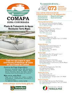 COMAPA  TAMPICO TAMAULIPAS