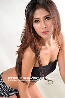 Destiara Talita di Majalah Popular World, BFN Mei 2013