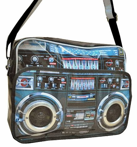 Ghettoblaster Postman Messenger Bag