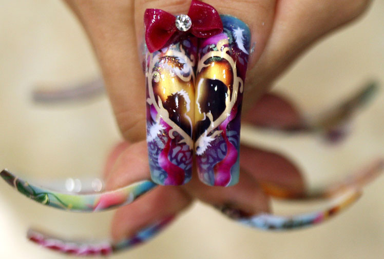 Extreme Nail Art Arts Entertainment And News