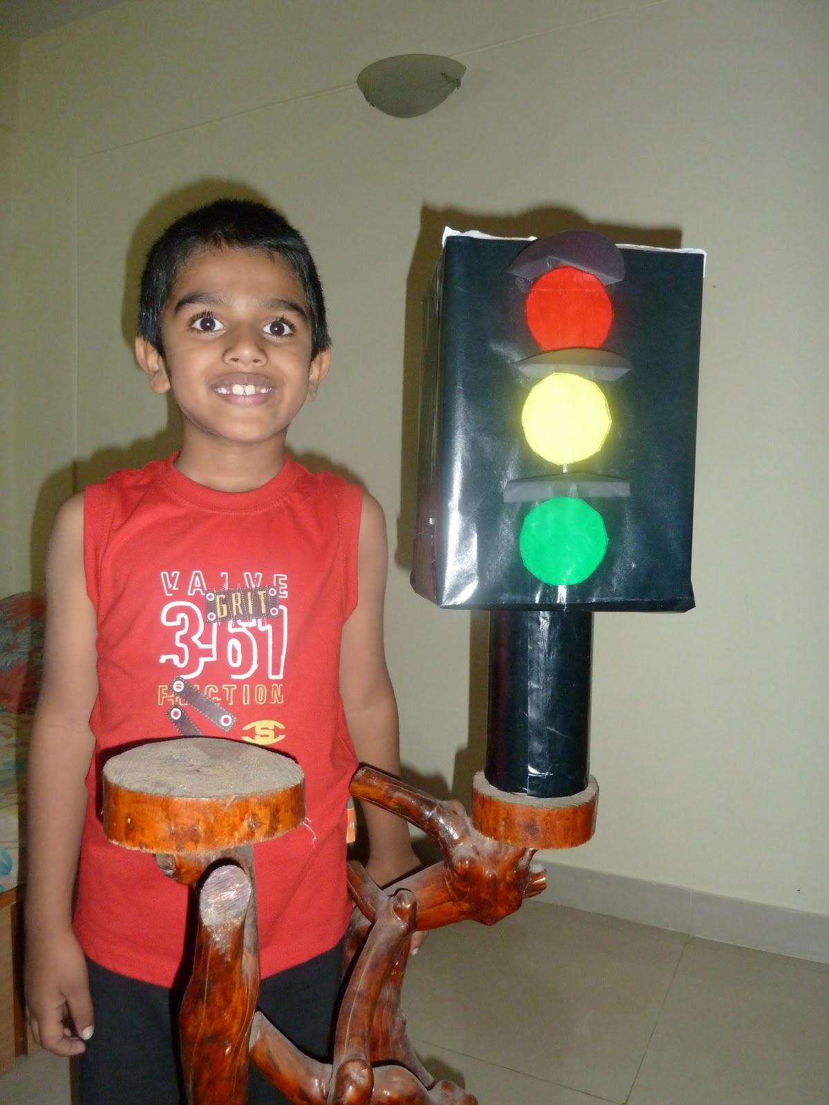School Science Project in Bhubaneswar Traffic light controller